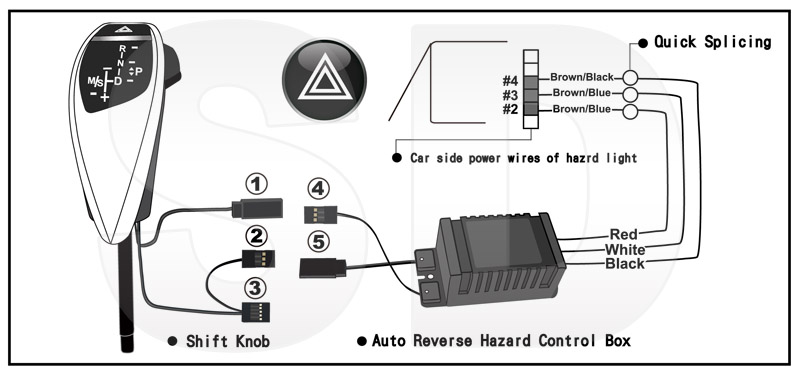1991 mustang hazard switch wiring diagram on off on switch